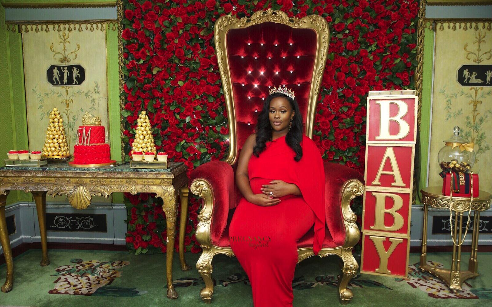 Nadia's Royal Baby Shower