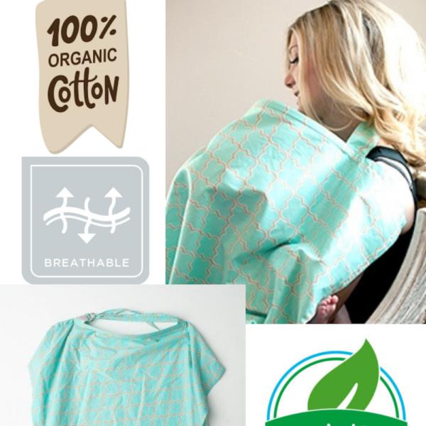 Premium Cotton Nursing Cover