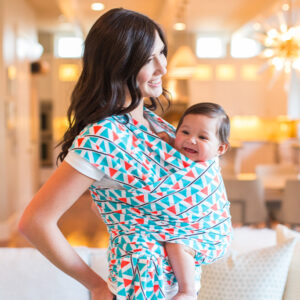 Baby Wrap Carrier - All in 1 Stretchy